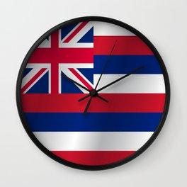 Flag of Hawaii Wall Clock