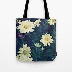 Flowers Polaroid Tote Bag