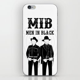 Men in Black iPhone Skin