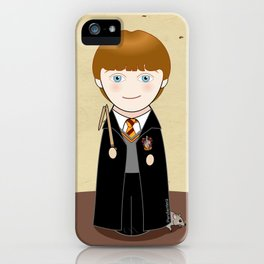 Kokeshi Ron iPhone Case