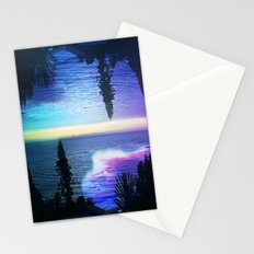 Circle Sunset Stationery Cards