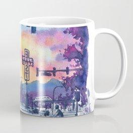 East Van Sunset Coffee Mug