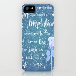 Sweeter than Sin iPhone Case