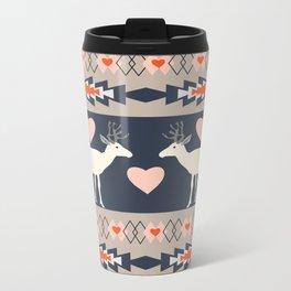 Romantic deer Metal Travel Mug
