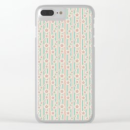 Deco Daisies Clear iPhone Case