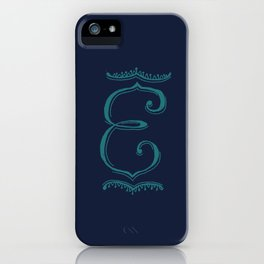 The Letter E iPhone Case