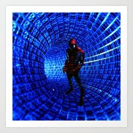 spider man Art Print
