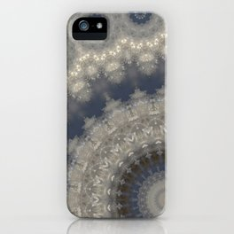 Snow crystals iPhone Case