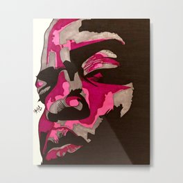 Biggie (Pinks) Metal Print