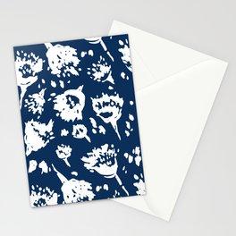Seed Pod Indigo Stationery Cards