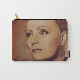 Greta Garbo, Movie Legend Carry-All Pouch