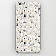 Watercolour Sheep iPhone & iPod Skin