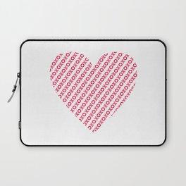 XOXO Heart Laptop Sleeve