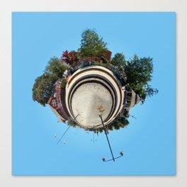 Planet Train Station Canvas Print