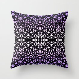 Damask Style G156 Throw Pillow