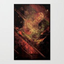 altered beast Canvas Print