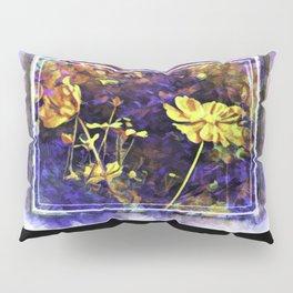 Flowery Explorations Pillow Sham