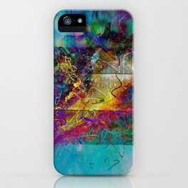 Untitled 2019, No. 8 iPhone Case