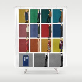 Doctor Who 2 Shower Curtain