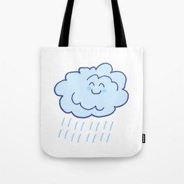 Rainy Floof Tote Bag