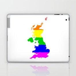 United Kingdom Gay Pride Flag Laptop & iPad Skin