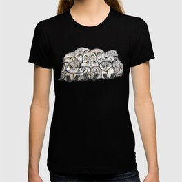 Baby Owls Pile T-shirt