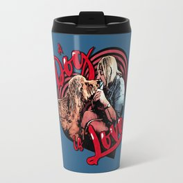 A Dog is Love Travel Mug