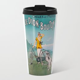 De Dion-Bouton, advertisement vintage poster Travel Mug