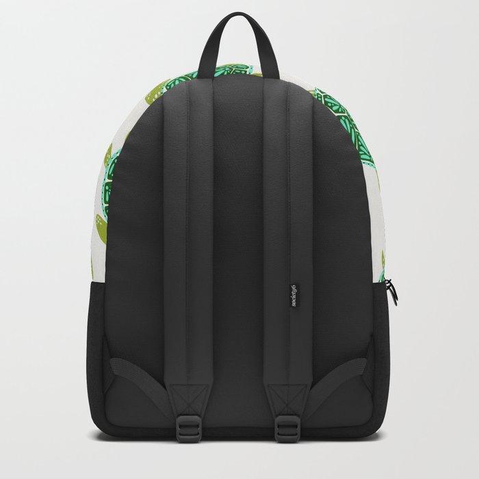 Sea Turtle – Green Palette Backpack