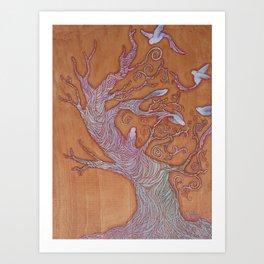 """Bird Tree"" Art Print"