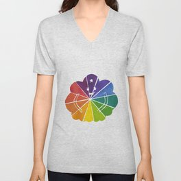 LSP Colour Wheel Unisex V-Neck