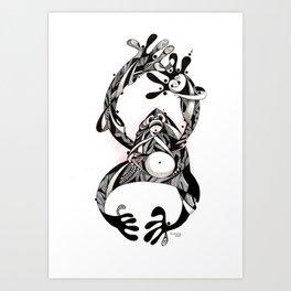 monkey lll   Art Print