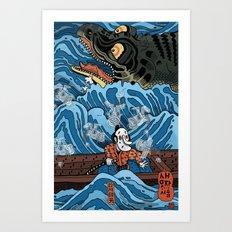 Gathering Ghosts (After Kuniyoshi) Art Print