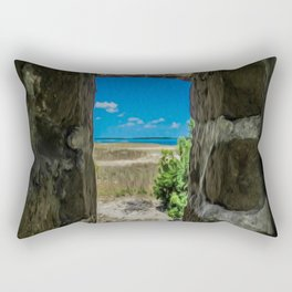 Break Free of Your Walls Rectangular Pillow