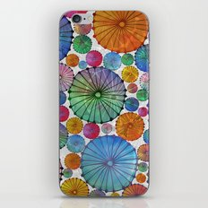 Abstract Floral Circles 5 iPhone & iPod Skin