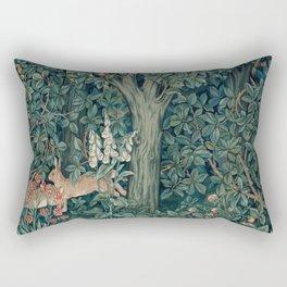 William Morris Greenery Tapestry Part 1 Rectangular Pillow