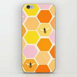 Busy As A Bee In A Hive iPhone Skin