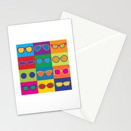 Pop Art Eyeglasses Stationery Cards
