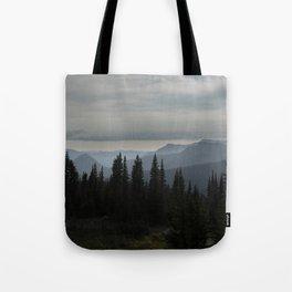 Forest Alpine Tote Bag
