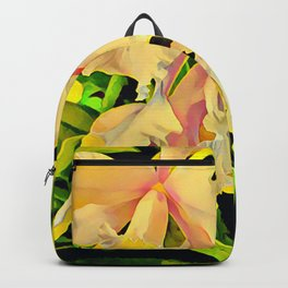 Two Cattleya Orchids Aloha Backpack