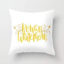 Rowan Whitethorn Throw Pillow