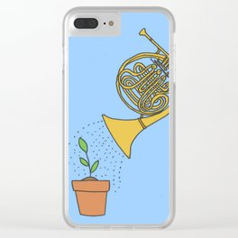 Watering Horn Clear iPhone Case