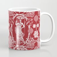 china Mugs featuring Imperial China by Vannina