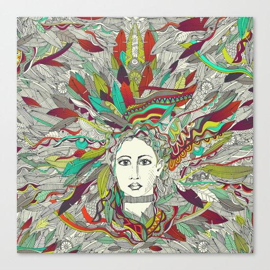 Goddess Aurora Canvas Print