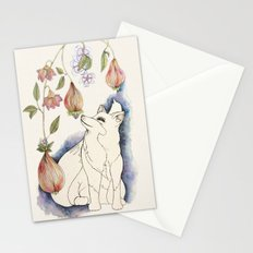 Fox in the fruit Stationery Cards