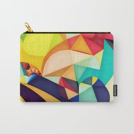 Poetry Geometry Carry-All Pouch