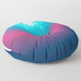 Space Wave Floor Pillow