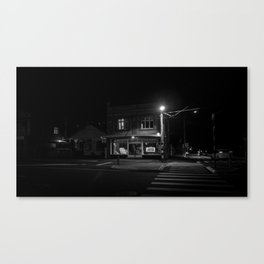 Island Bay at night Canvas Print