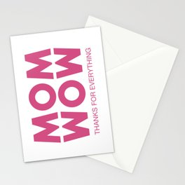Mom, Wow! Stationery Cards