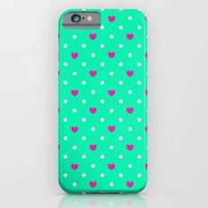Polka hearts Slim Case iPhone 6s